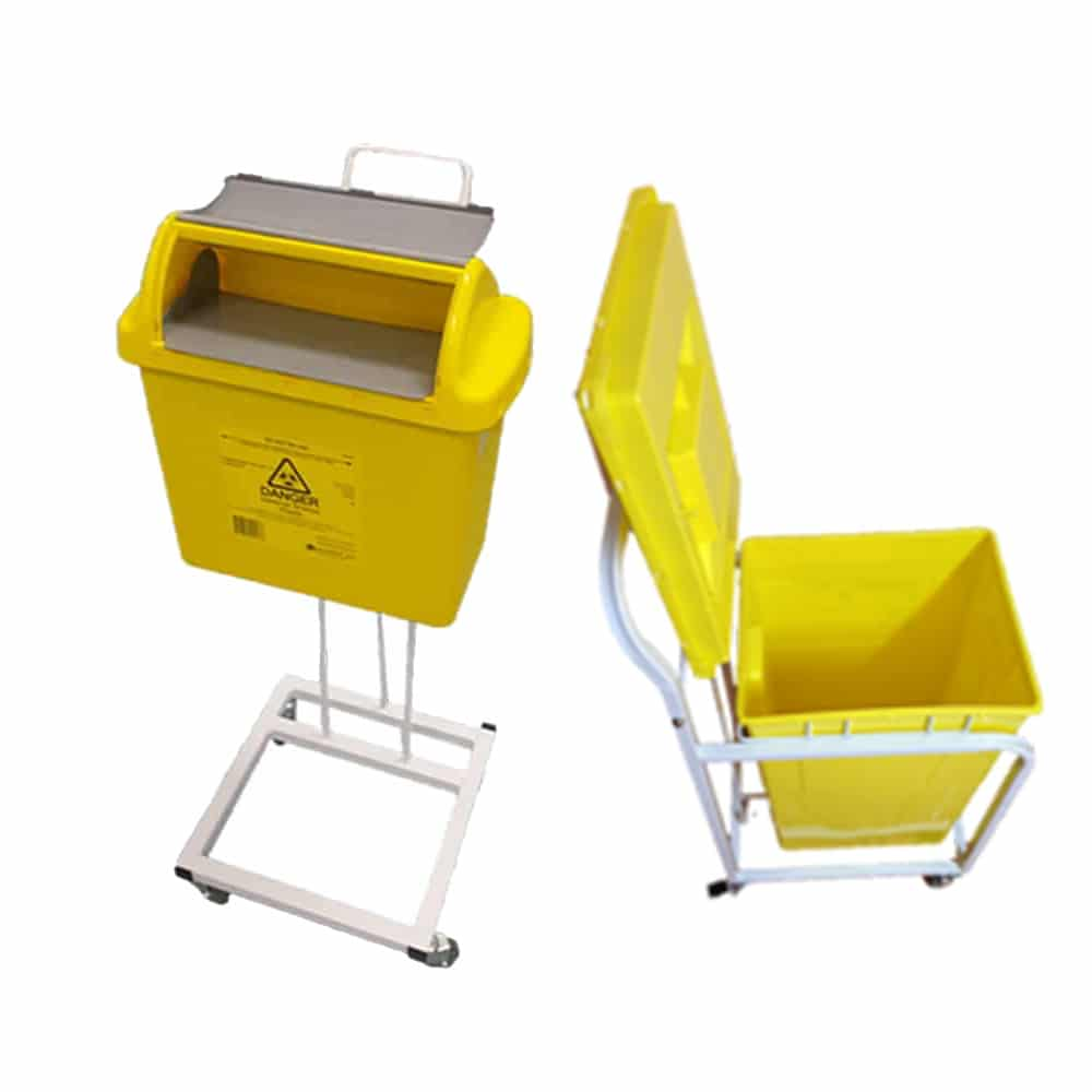 EasyCollect & EasyPlus Duo sharps disposal bins